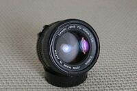 Canon 50mm f/1.4 FD-mount Manual Focus lens, breech or bayonet mount- Very Nice!
