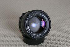 Canon 50mm f/1.4 FD-mount Manual Focus lens, breech or bayonet mount- Very Nice!