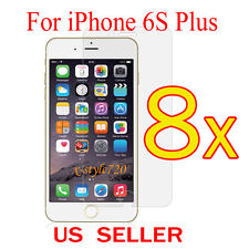 8x Clear LCD Screen Protector Guard Cover Film For Apple iPhone 6s Plus 5.5""