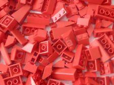 Lego 200 x Dachsteine  Rot Verschiedene Grössen Konvolut