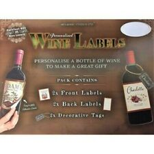 Bar/WINE BOTTLE Accessories - Personalised/Gift - WINE BOTTLE LABELS