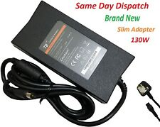 DELL JU012 PA13 ADP-130DB Laptop Adapter Replacement Charger  + UK Power Cord