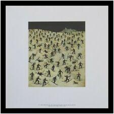 Franz Sedlacek übungswiese Poster Kunstdruck mit Alu Rahmen in schwarz 40x40cm