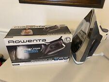 Rowenta Dw23 Accessteam Iron 1700 watts New Open Box Steam