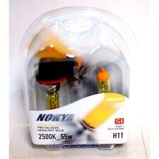 Nokya H11 Hyper Yellow S1 High Beam Fog Light Halogen Light Bulb 1 Pair NOK7618