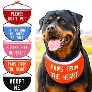 Personalized Dog Bandana Collar Pet Saliva Towel Custom Name Mesh Scarf Bulldog