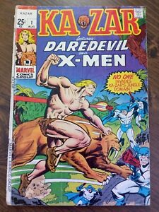 Kazar #1 (Aug 1970, Marvel) MID GRADE
