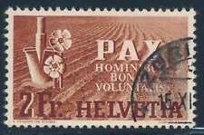 Schweiz Nr. 456 gestempelt, 2 Fr. PAX 1945 (45977)