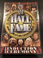 WWE Hall of Fame Induction Ceremony 2004 (DVD, 2004, 2-Disc Set) Wrestling Stars