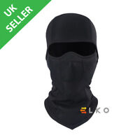 ELKO® Black Balaclava Mask Under Helmet Winter Warm Army Style Neck Warmer
