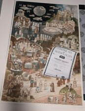 SOLD OUT Star Wars Mondo Faraway Galaxy print - Scott C Campbell LIMITED EDITION