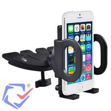 Soporte de coche para Smartphone iPhone Montaje en ranura de CD Móvil GPS