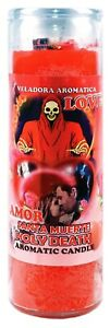 CANDLE COCKTAIL AROMATIC HOLY DEATH LOVE - SANTA MUERTE AMOR