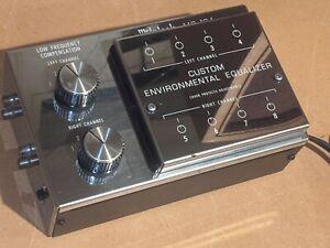 Vintage McIntosh MQ104 Custom Environmental Programmable Bass & Room Equalizer