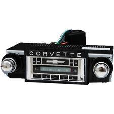 1968-1976 Corvette Custom Autosound USA-230 AM/FM Stereo Concours Series Chrome