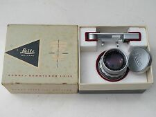 """Leica M 50mm f:2 DR Dual Range Summicron with eyes goggles, caps/BOX """"LQQK"""""""