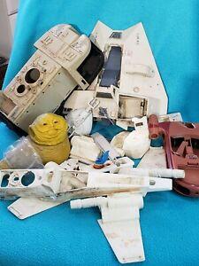 Vintage lot Parts Star Wars Imperial Transport snowspeeder X-Wing landspeeder