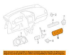 Chevrolet GM OEM-Dash Climate Control Unit HVAC Heater A/C Fan 23111244