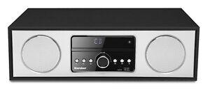 Karcher DAB 4500CD Musikanlage mit Radio - DAB+ - UKW-RDS - CD Player - schwarz
