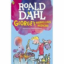 Roald Dahl Story Book: GEORGE'S MARVELLOUS MEDICINE - 2016 Artwork - NEW