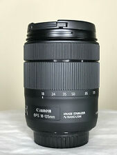 Canon EF-S 18-135mm f/3.5-5.6 IS STM Zoom Lens W/ Hood for Canon APS-C DSLR