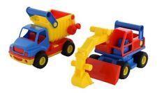 Wader 0452 ConsTruck Muldenkipper + ConsTruck Bagger NEU&OVP