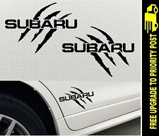 SUBARU Decals WRX CAR awd FORESTER OUTBACK CLAW Stickers 170mm