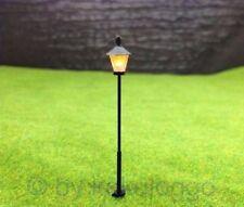 S315 - 10 Stück Straßenlampen 5,5cm mit LED 12-19V Parkleuchte Parklaterne