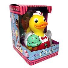 Chip Ice Cream Lover's CelebriDuck Rubber Duck NIB