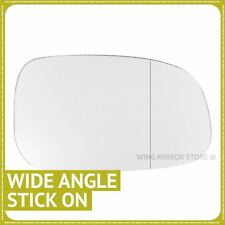 Right Driver Side WIDE ANGLE WING DOOR MIRROR GLASS For Volvo C30 2006-2009