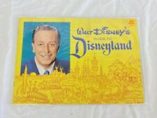 Vintage 1962 Walt Disney's Guide to Disneyland