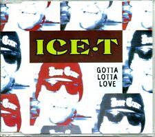 ICE.T - GOTTA LOTTA LOVE - 4 TRACK CD SINGLE