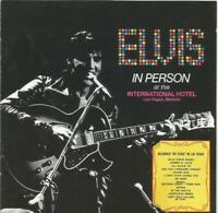 Elvis Presley - Elvis In Person CD album