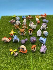 Rare Pokemon Mystery Hasbro Poke Packs Mini Figures Lot Of 31