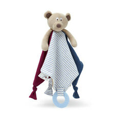 Mr Ted Baby Comforter & Teething Rattle Soft Toy Lovely Bear Security Blanket