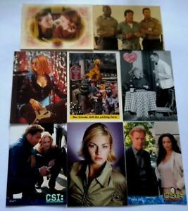 Television Shows Trading Card Sets (Choose From A Selection Of Complete Sets)