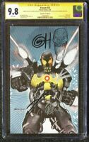 3x signed with Sketch SS CGC 9.8 Horn Cates Stegman VENOM # 25 Virgin Variant B
