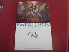 FANTASTIC FOUR - CIVIL WAR SC Graphic Novel TPB  Marvel Comics 2007