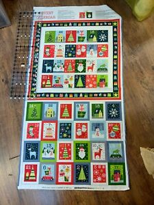 Advent Calendar panel (2226) 23.5 wide x 22.5in length approx  (when finished )