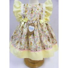 2020 Kinder Boutique Spanish Style Romany Baby & Girls Bunny Garden Bows Dress