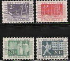 Nederland 588-591 Rijkstelegraaf  1952 luxe gestempeld/USED