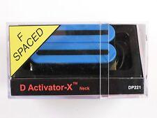 DiMarzio F-spaced D Activator X Neck Humbucker Blue DP 221