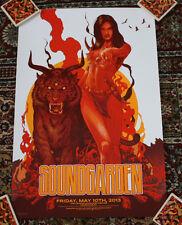 SOUNDGARDEN concert gig poster print LOUISVILLE 5-10-13 2013 silkscreen