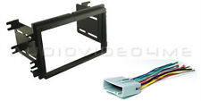 2005-2006 Ford Mustang Double DIN Radio Installation Dash Kit + FREE Harness