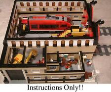 For Fans of Lego 7938 - OVER 100+ LEGO INSTRUCTIONS like TRAIN MAINTENANCE YARD