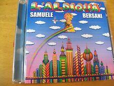 SAMUELE BERSANI L'ALDIQUA   CD MINT-