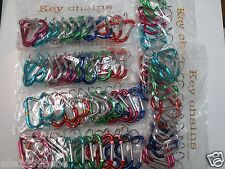 "Lot of 72 pc Heart Carabiner Key Chain / Size 2 1/8"" -2 1/4"""