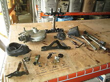 1979 Yamaha XS1100 Final Drive Unit Triple Tree Horn Axle Stand Boot Parts Lot