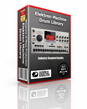 Elekron MachineDrum SPS-1 MKII WAV Samples & Sounds Library: digital delivery