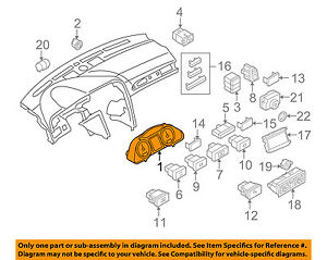AUDI OEM 05-08 A6 Quattro-Gauge 4F0920983L